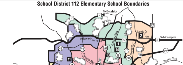Chaska Elementary School Boundaries