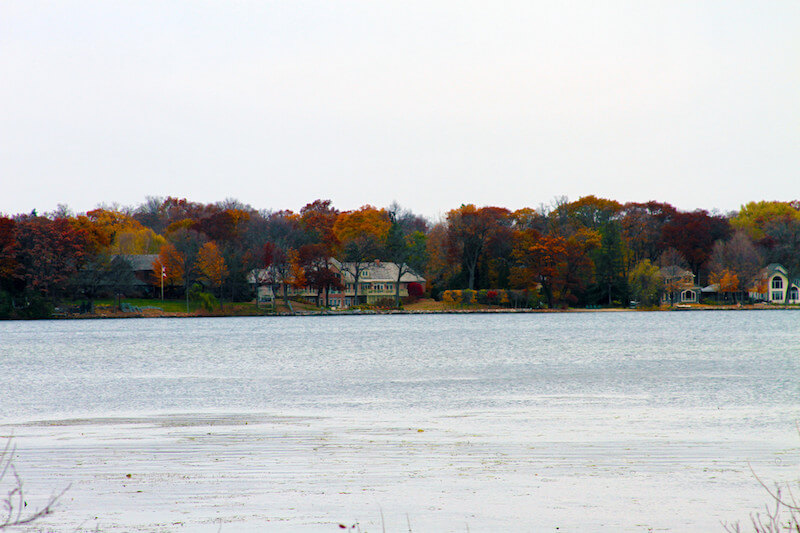 Lake Minnestonka in Shorewood, Minnesota