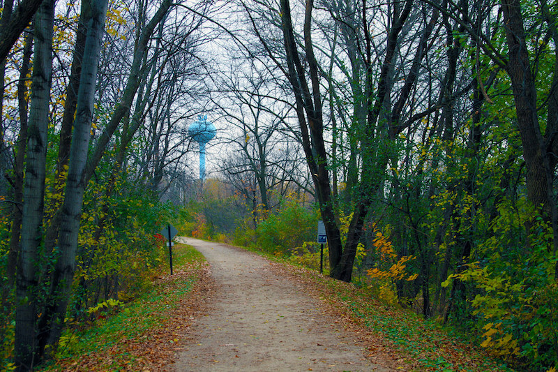 Lake Minnetonka Regional Trail in Shorewood, Minnesota