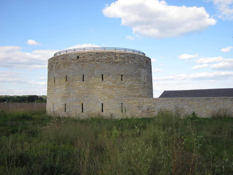 Fort Snelling in Minneapolis, MInnesota
