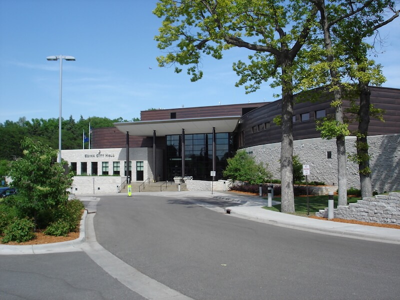 Edina City Hall in Edina, Minnesota