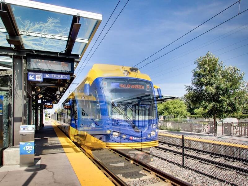 Light Rail in Twin Cities