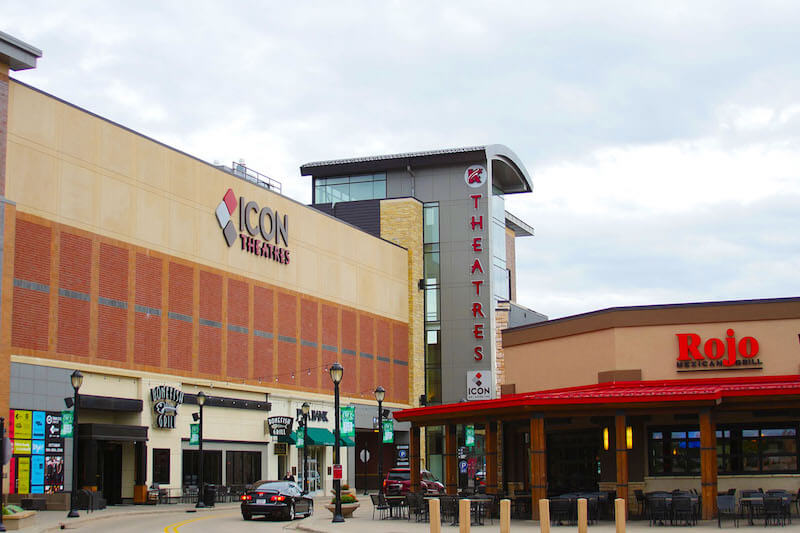 Theatre at Shops at West End in St. Louis Park, Minnesota