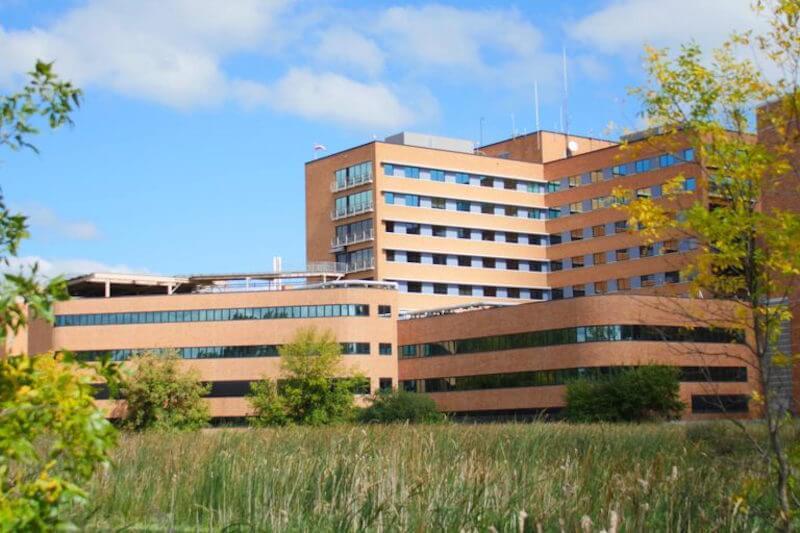 Park Nicollet Hospital in St Louis Park, Minnesota