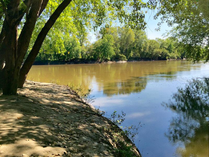 Riverside in Winkel Park in Chaska, Minnesota