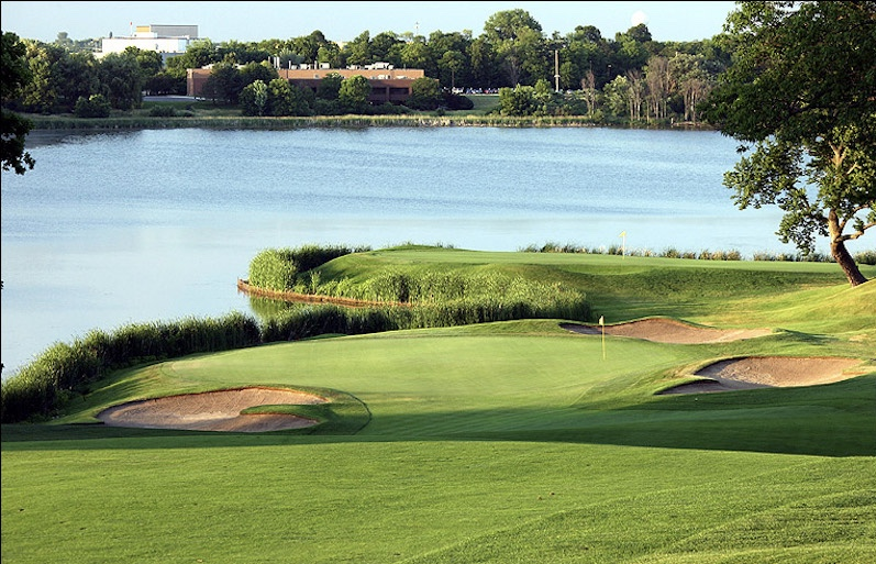 Hazeltine Golf Course in Chaska, Minnesota
