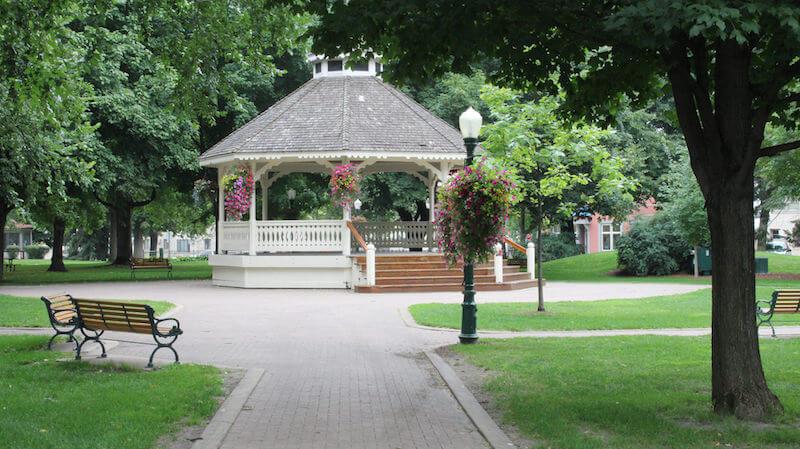 City Square Park Gazebo in Chaska, Minnesota