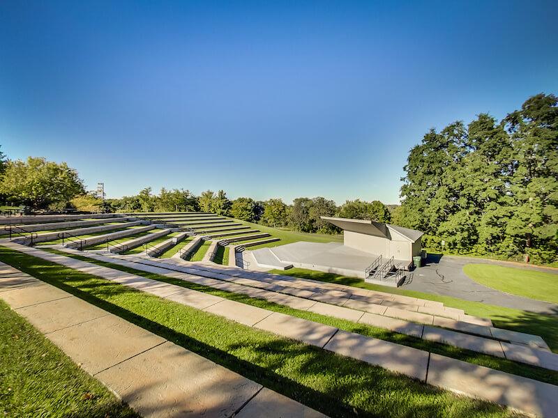 Amphitheater in Staring Lake in Eden Prairie, Minnesota