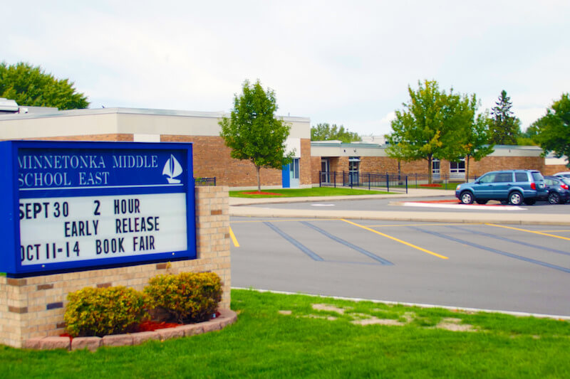 Minnetonka Middle School East in Minnetonka, Minnesota