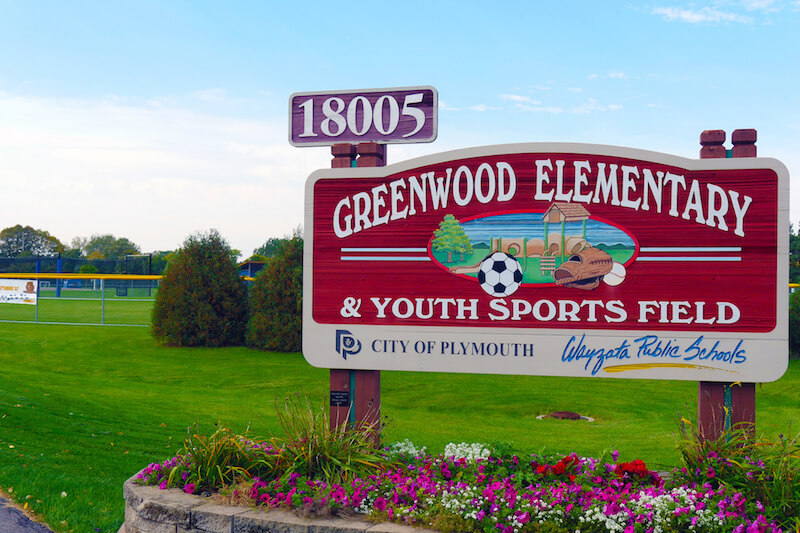 Greenwood Elementary School in Plymouth, Minnesota