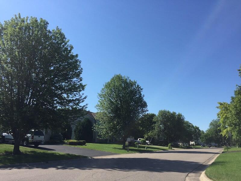 Homes in Saddlebrook Neighborhood in Plymouth, Minnesota