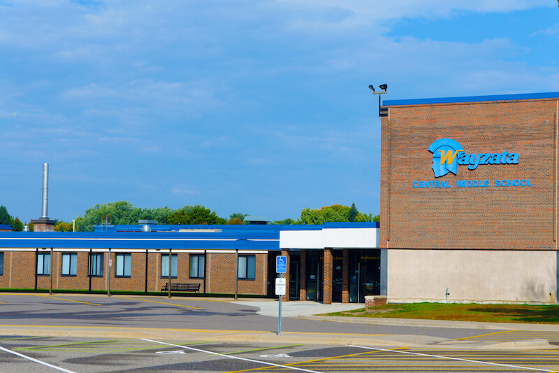Wayzata Central Middle School in Wayzata, Minnesota