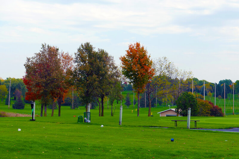 Holldydale GOlf Course Driving Range in Plymouth, Minnesota