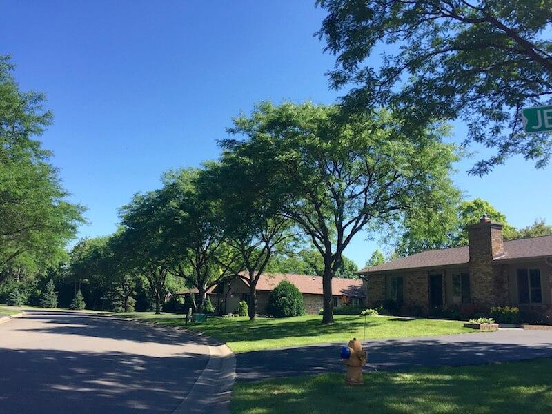 Homes in Kingswood Neighborhood in Plymouth, Minnesota