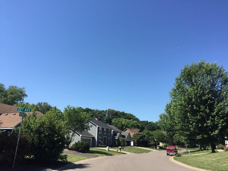 Homes in Steeplchase Neighborhood in Plymouth, Minnesota