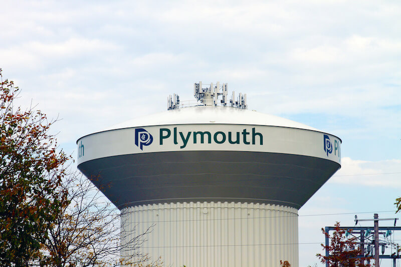 Plymouth Water Tower in Plymouth, Minnesota