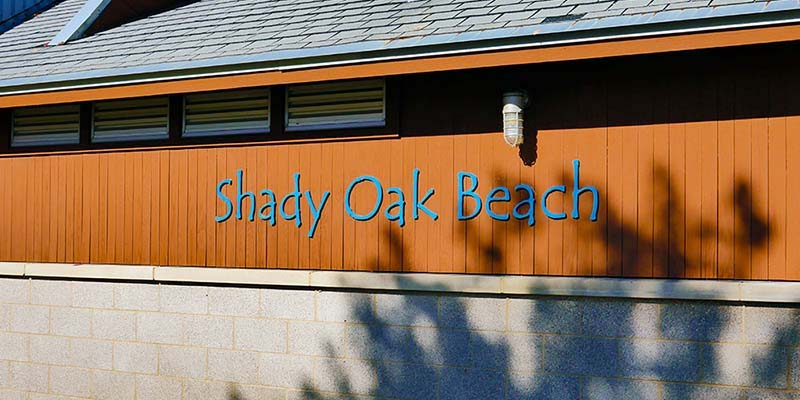 Shady oak Beach in Minnetonka, Minnesota