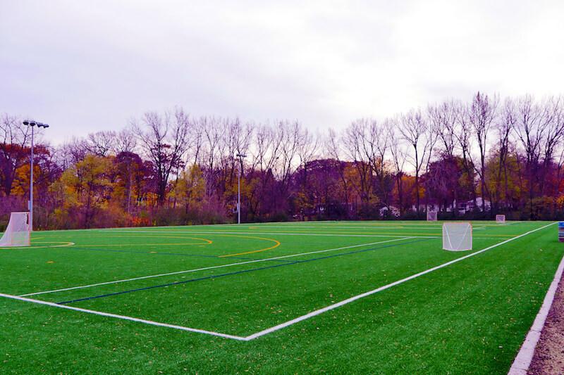 Badger Park Field in Shorewood, Minnesota
