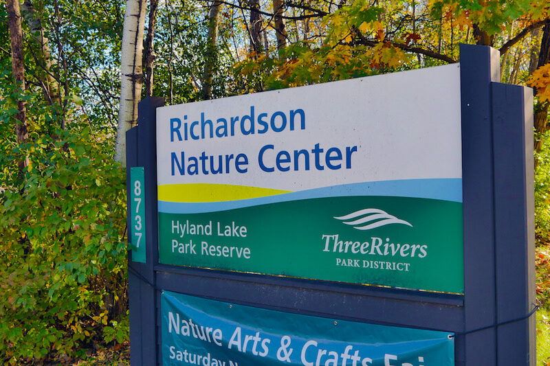 Richardson Nature Center in Bloomington, Minnesota