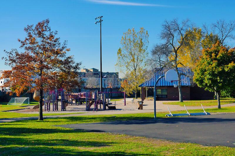 Washington Park in Richfield, Minnesota